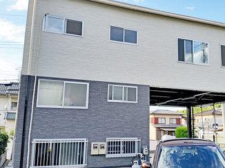 外壁・屋根リフォーム バイカラ―がお洒落!新築のような出来栄えにお客さまも大満足の外壁