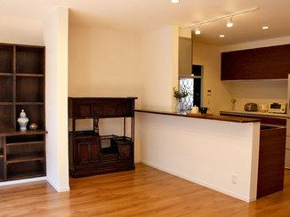 戸建フルリフォーム 和モダンの家具が似合う、落ち着いた雰囲気のお家にフルリフォーム