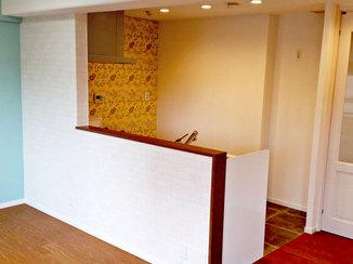 マンションリフォーム 広々としたLDKが解放感のある、北欧×和のマンションリフォーム