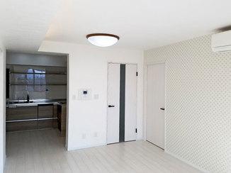 マンションリフォーム ホワイトベースで明るく清潔感のあるマンションリフォーム