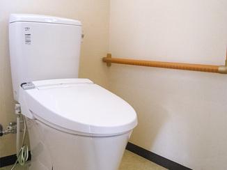 トイレリフォーム 清掃性がよくなった節水型の最新トイレ