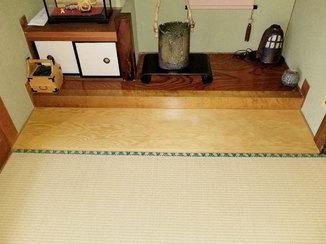 内装リフォーム 板を変えて明るい印象になった床の間