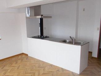 キッチンリフォーム お客様支給の設備を利用した水廻り・内装リフォーム