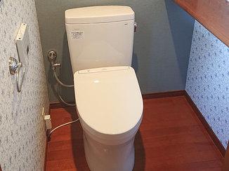 トイレリフォーム 1Fと2Fのトイレを1日でスタイリッシュにリフォーム
