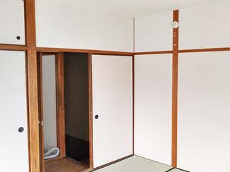 内装リフォーム 雨漏りの原因をつきとめ、対策して一新した和室